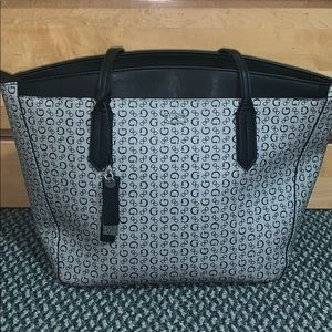 Leather Guess Tote